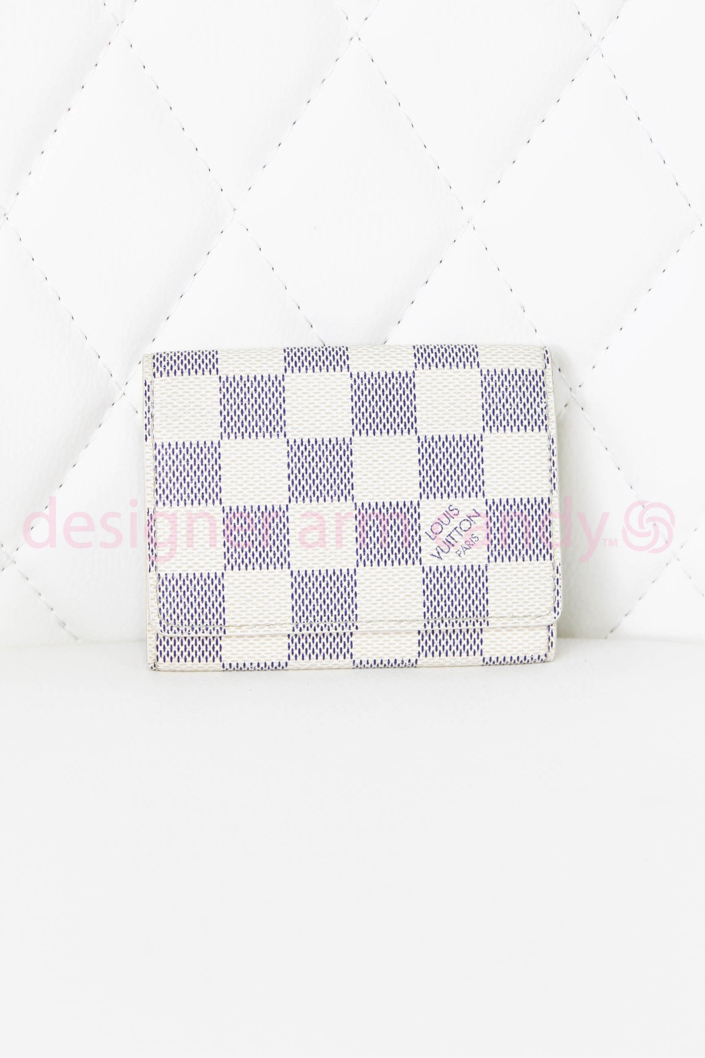 Louis Vuitton Damier Azur Card Holder