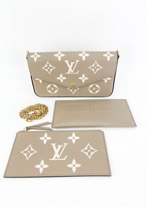 Louis Vuitton Empriente Tourterelle Felicie *Includes Inserts*