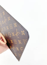 Load image into Gallery viewer, Louis Vuitton Monogram Neverfull Pochette w/ Red