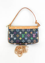 Load image into Gallery viewer, Louis Vuitton Multicolor Black Pochette Accessories