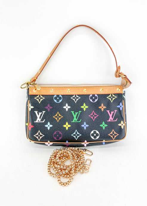 Louis Vuitton Multicolor Black Pochette Accessories