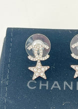 Load image into Gallery viewer, Chanel CC Star Stud Earrings