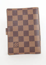 Load image into Gallery viewer, *BUNDLE* Louis Vuitton Damier Ebene Agenda PM & Inserts