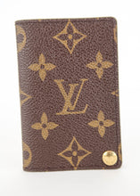 Load image into Gallery viewer, Louis Vuitton Monogram Card Organizer