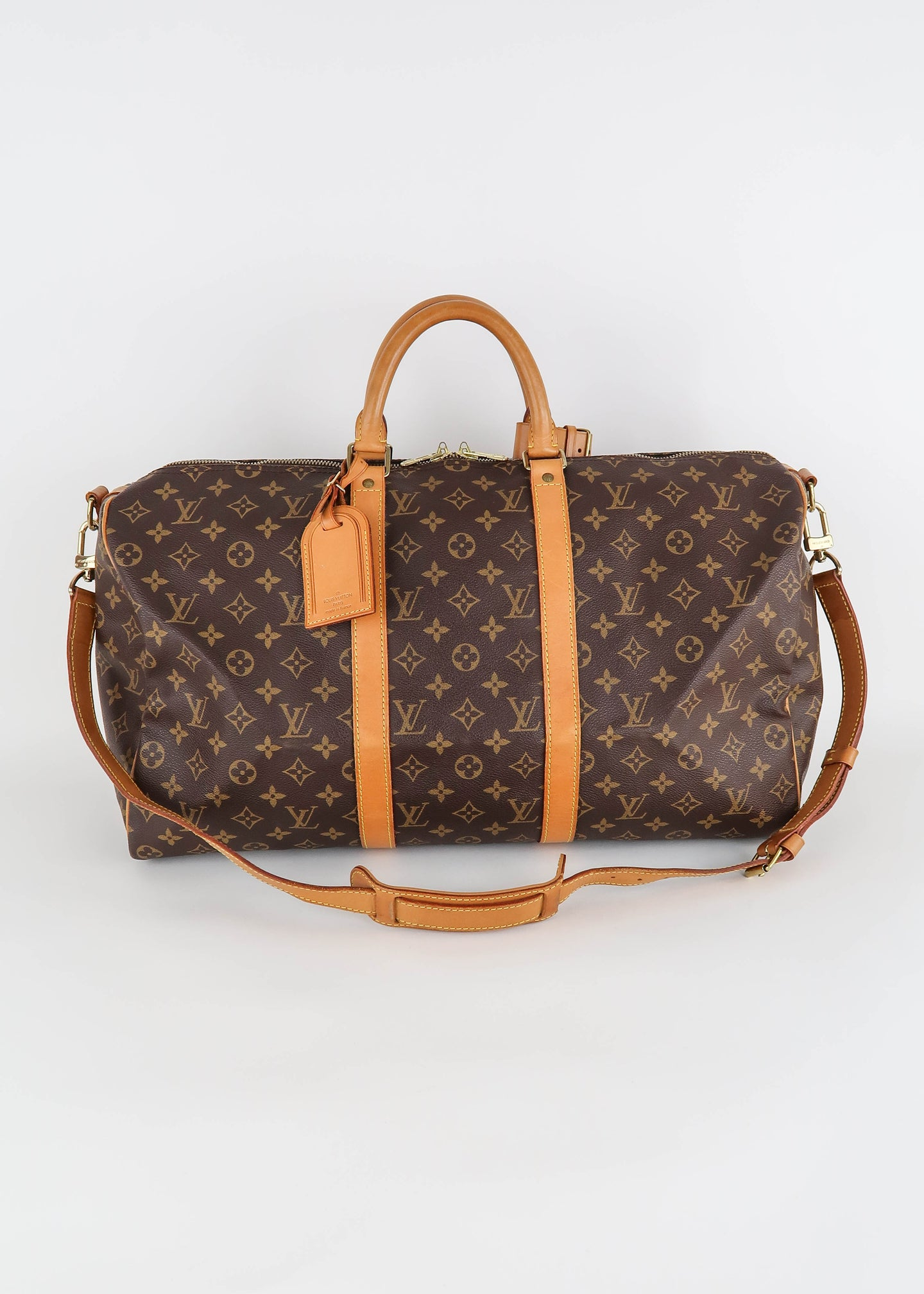 Louis Vuitton Monogram Keepall 50 Bandouliere
