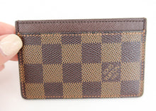 Load image into Gallery viewer, Louis Vuitton Damier Ebene Card Holder