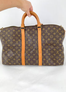 Louis Vuitton Monogram Keepall 50