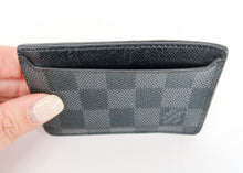 Load image into Gallery viewer, Louis Vuitton Men's Damier Graphite Porte Cardes