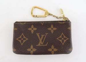 Louis Vuitton Monogram Cles Key Pouch