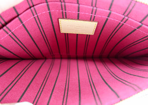 *BUNDLE* Louis Vuitton Monogram Neverfull Pochette w/ Pink & Felicie Insert
