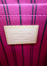 Load image into Gallery viewer, *BUNDLE* Louis Vuitton Monogram Neverfull Pochette w/ Bright Pink & Felicie Insert