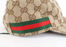 Load image into Gallery viewer, Gucci GG Canvas Baseball Cap