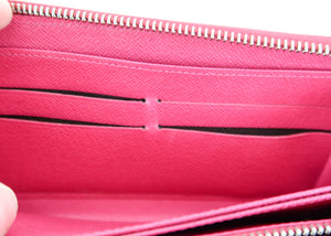 Louis Vuitton Epi Zippy Wallet Pink