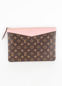 Louis Vuitton Monogram Rose Poudre Daily Pouch