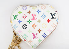 Load image into Gallery viewer, Louis Vuitton Multicolor Monnaine Heart Coin Purse