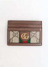 Load image into Gallery viewer, Gucci Ophidia Supreme Canvas Card Holder
