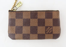 Load image into Gallery viewer, Louis Vuitton Damier Ebene Cles Key Pouch