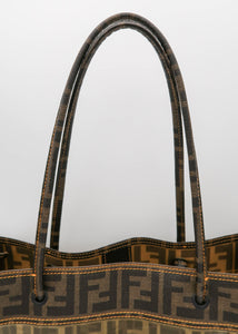 Fendi Zucca Mesh Shoulder Bag