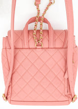 Load image into Gallery viewer, Chanel Caviar Pink Filigree Backpack