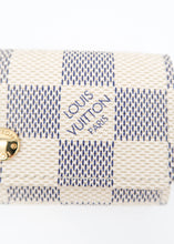 Load image into Gallery viewer, Louis Vuitton Damier Azur 4 Key Holder