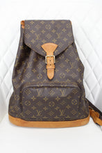 Load image into Gallery viewer, Louis Vuitton Monogram Montsouris GM Backpack