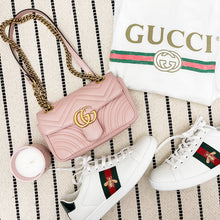 Load image into Gallery viewer, Gucci LIMITED EDITION Pink Marmont Small Flap