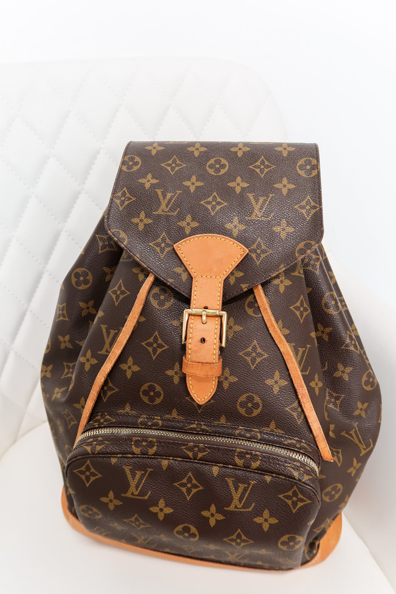Louis Vuitton GM Montisouris Monogram Backpack