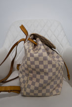 Load image into Gallery viewer, Louis Vuitton Damier Azur Sperone Backpack