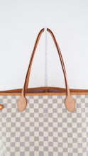Load image into Gallery viewer, Louis Vuitton Damier Azur Neverfull MM Pink