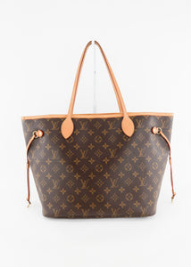 Louis Vuitton Monogram Neverfull MM Light Pink