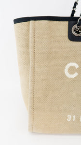 Chanel Logo Medium Deauville Beige