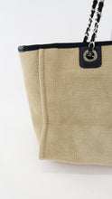 Load image into Gallery viewer, Chanel Logo Medium Deauville Beige