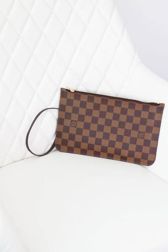 Louis Vuitton Damier Ebene GM Neverful Pouch