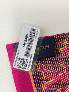 Louis Vuitton Pink Pop Art Bandeau