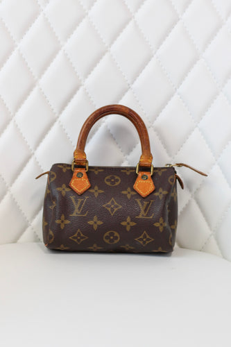 LOUIS VUITTON MONOGRAM Mini Speedy