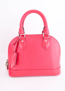 Louis Vuitton Alma BB Rose Rose Pondicherry