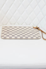 Load image into Gallery viewer, Louis Vuitton Damier Azur Neverfull GM Pouch