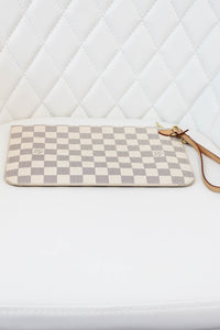 Louis Vuitton Damier Azur Neverfull GM Pouch