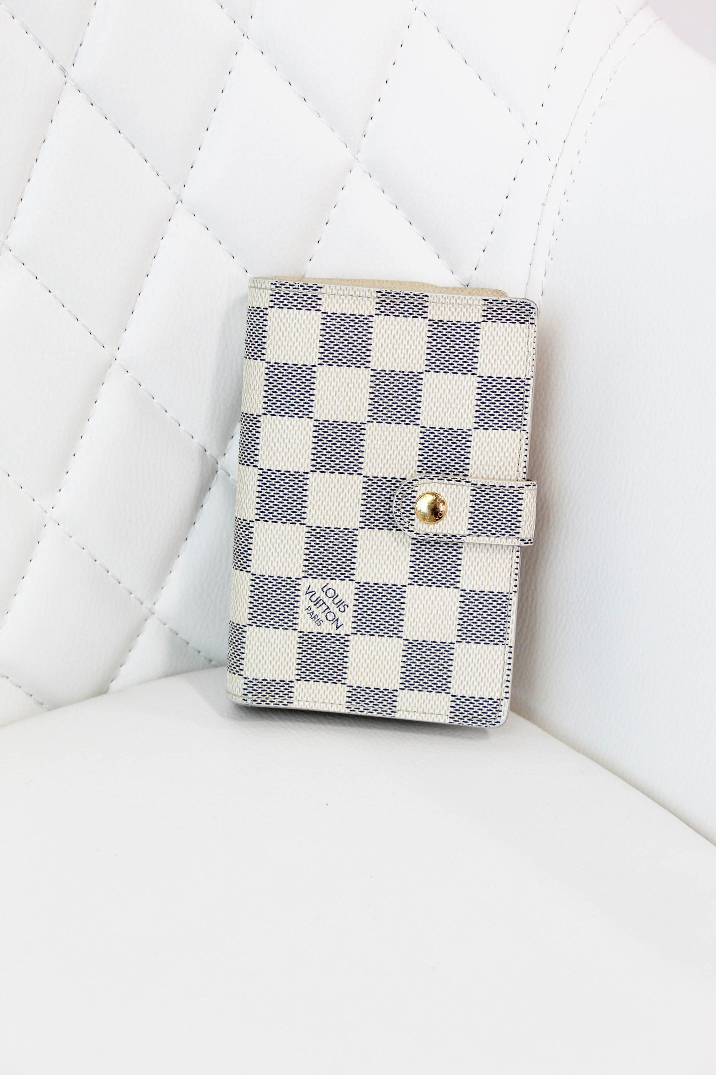 Louis Vuitton Damier Azur French Wallet
