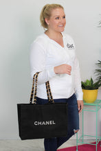 Load image into Gallery viewer, Chanel Canvas Tote