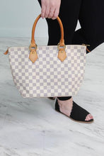 Load image into Gallery viewer, Louis Vuitton Damier Azur Saleya PM