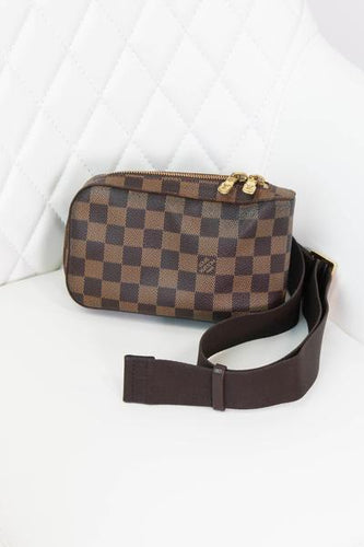 Louis Vuitton Damier Ebene Geronimo Waist Bag