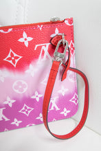 Load image into Gallery viewer, Louis Vuitton Red Escale Neverfull Pochette