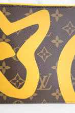 Load image into Gallery viewer, Louis Vuitton Tahiti Monogram Yellow Neverfull Pochette