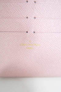 Louis Vuitton Rose Ballerine Felicie Insert