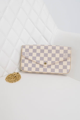 Louis Vuitton Damier Azur Felicie Crossbody