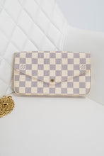 Load image into Gallery viewer, Louis Vuitton Damier Azur Felicie Crossbody