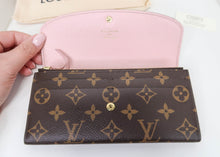 Load image into Gallery viewer, Louis Vuitton Monogram & Pink Emilie Wallet