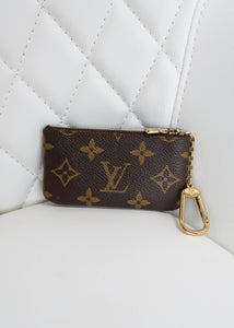 Louis Vuitton Monogram Key Pouch Cles