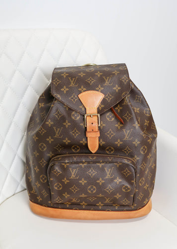 Louis Vuitton Monogram Montisouris GM Backpack
